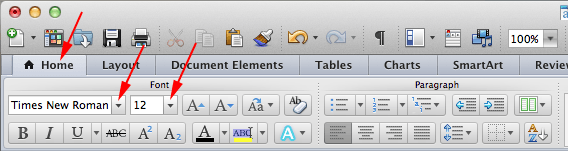 How To Setup MLA Formatting on a Mac Using Word 2011
